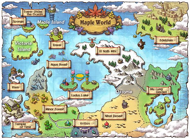 MapleStory Maple world