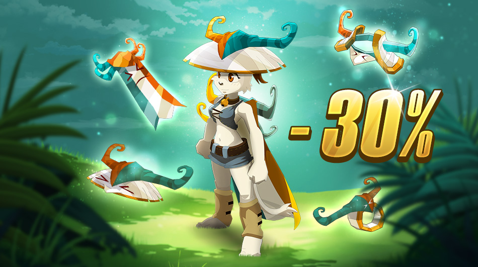 Livitinem Set Has 30% Discount In DOFUS Touch Shop This Week