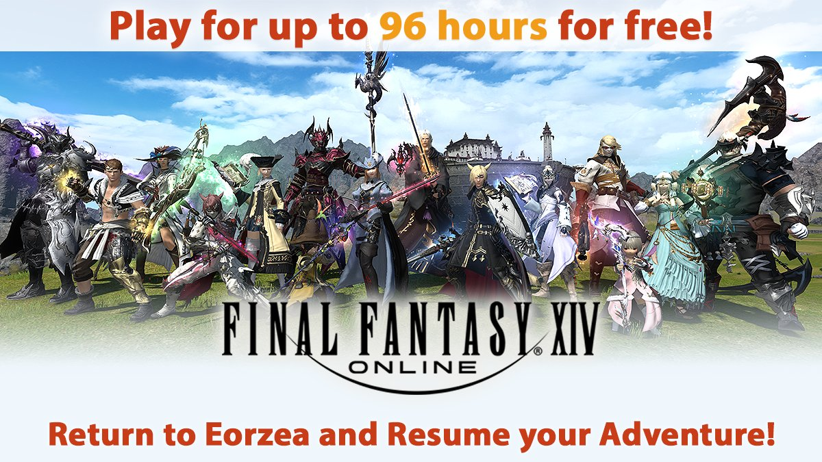 Final Fantasy XIV Becomes Free-to-play For A Limited Period Of Time