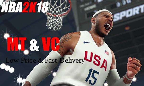Get VIP Bonus to Buy NBA 2K18 MT Cheapest In U4NBA