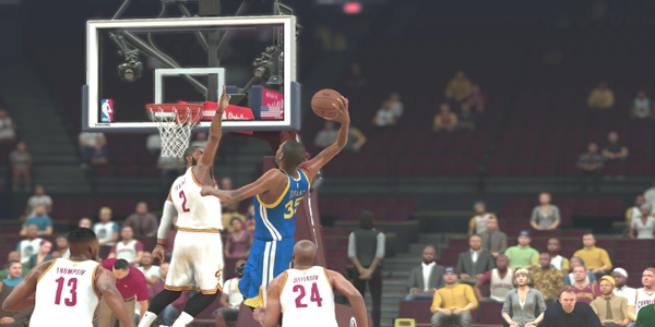 NBA 2K17: A Fierce Competition Between Golden State And Cleveland