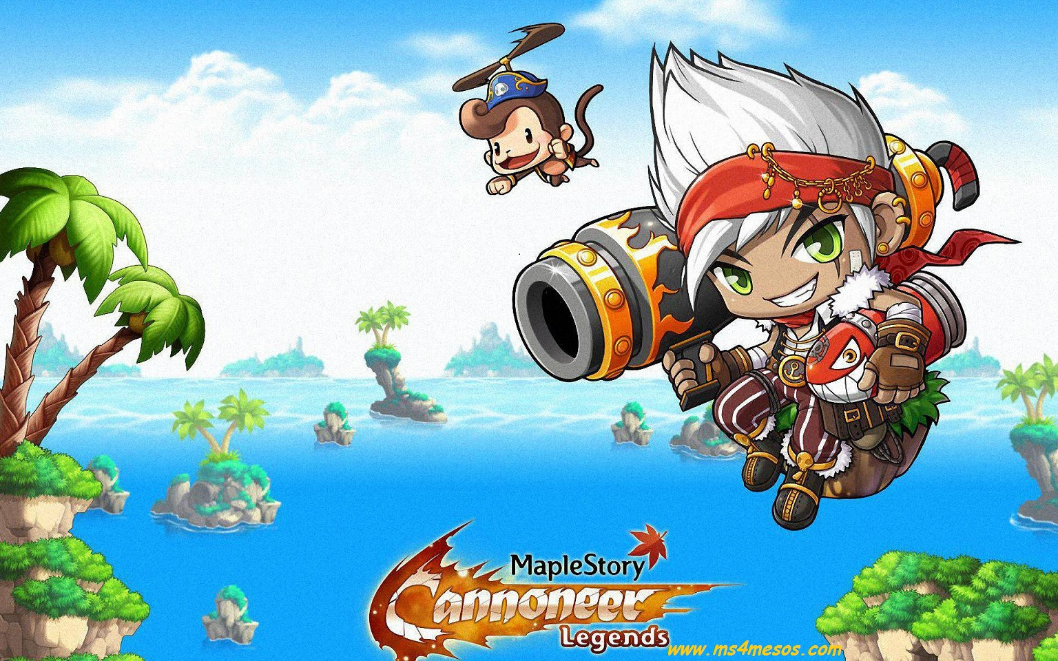 Nexon Brings the Blaze Wizard to Pocket MapleStory