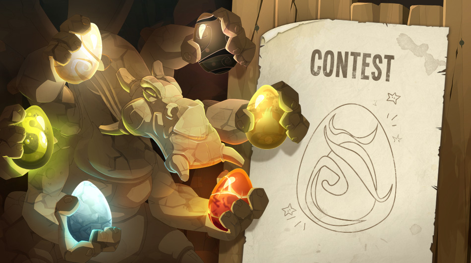 Join The Color Dragon Eggs Contest In DOFUS Touch