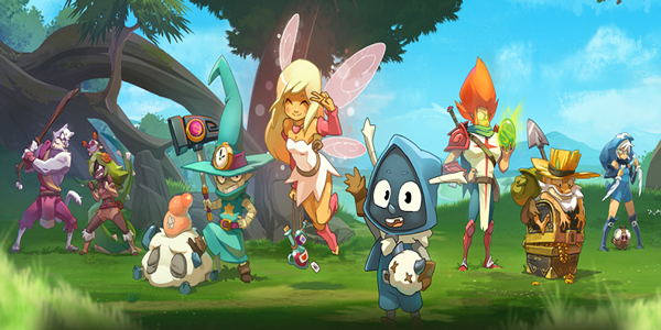 You Can Create Character And Choose Class In Dofus Touch