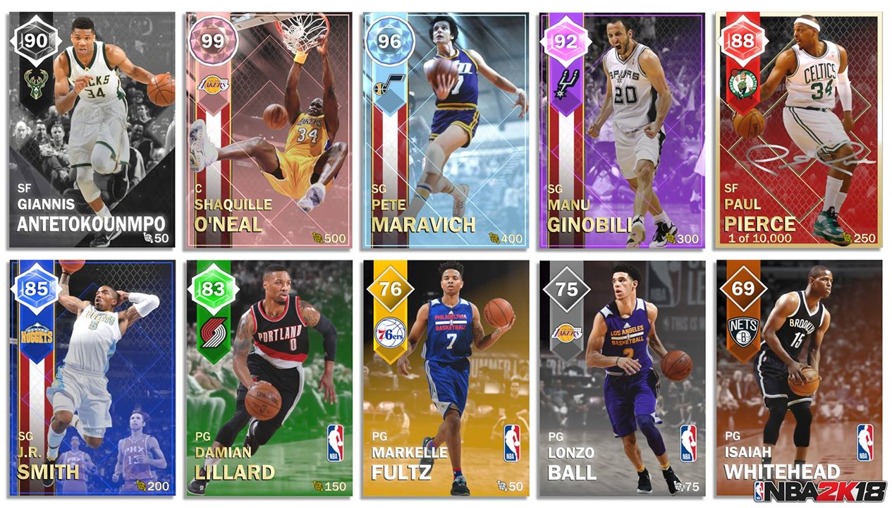 NBA 2K18 MyTeam News Come With The New Trailer