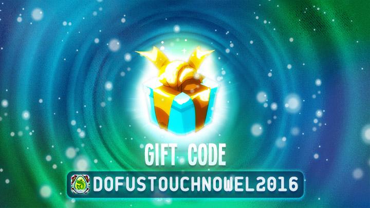 Dofus Touch: New Gift Code For Kwismas Holiday