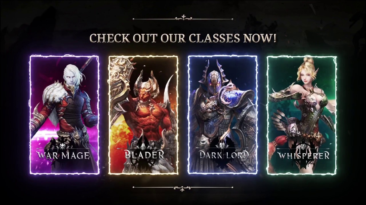MU Legend Overview Of All Classes And Skills