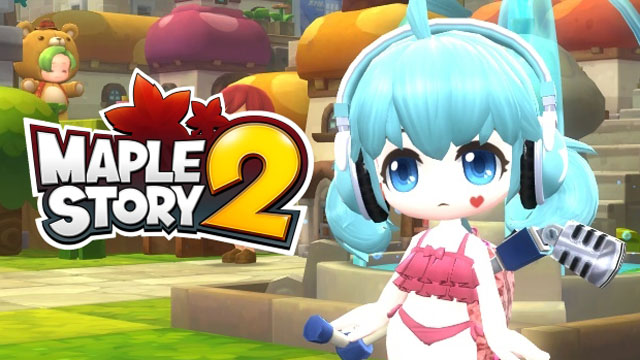 Many English Dubbed Files Appear In MapleStory 2 Installer