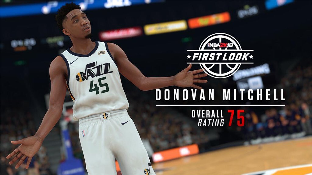 NBA 2K18 First Look With Player Ratings