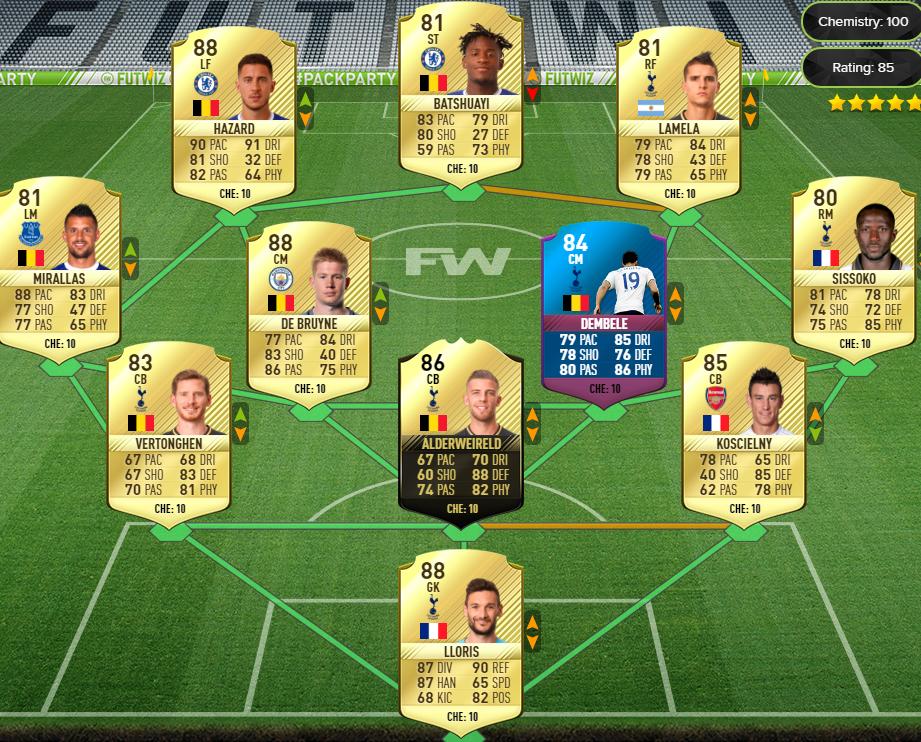 FIFA 17 FUTmas SBC: TOTW 15 Guarantee & TOTW Tradeable