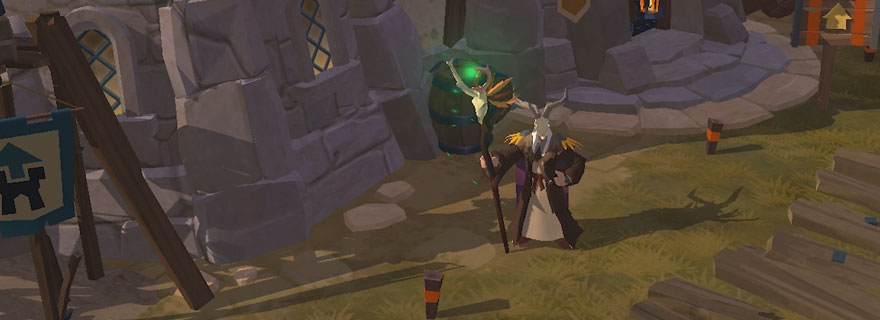 Albion Online: Best Build For Solo PvE & Skinning
