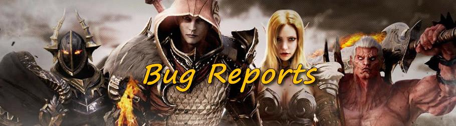 MU Legend Bug Reports