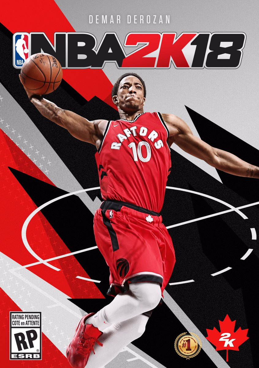 2K Sports Announces NBA 2K18 Canadian Cover With DeMar DeRozan