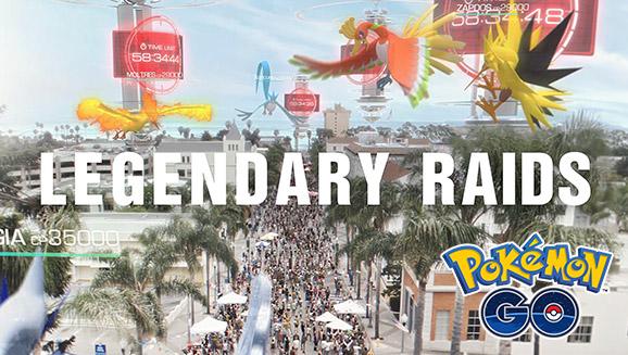 Pokemon GO: Legendary Raid Boss In The Trailer