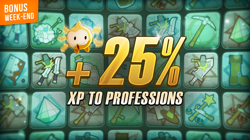 Win 25% More XP With All Professions In DOFUS Touch