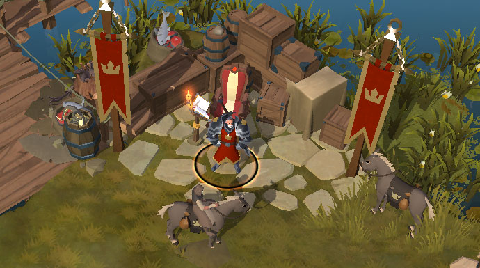 Hector Brings 8 New Mounts To Albion Online