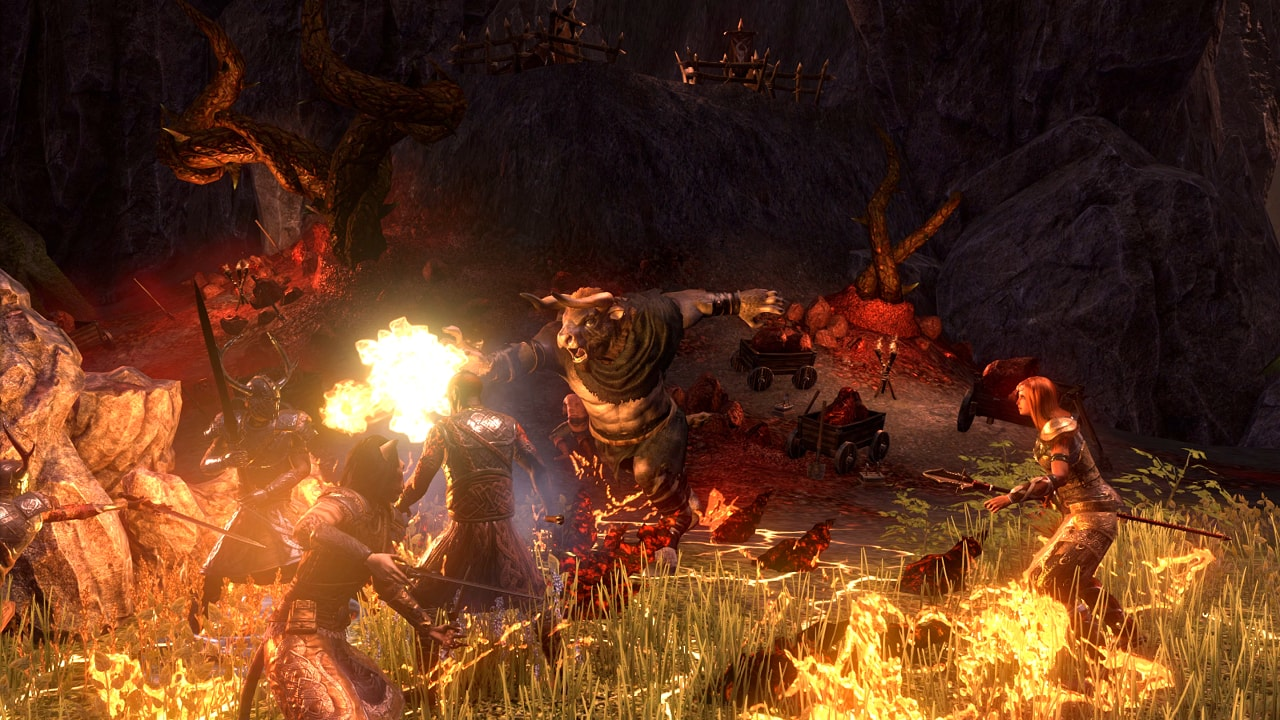 The Elder Scrolls Online Today Receives The Horns Of The Reach Pack