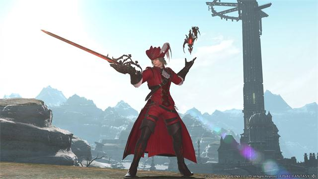FFXIV Red Mage