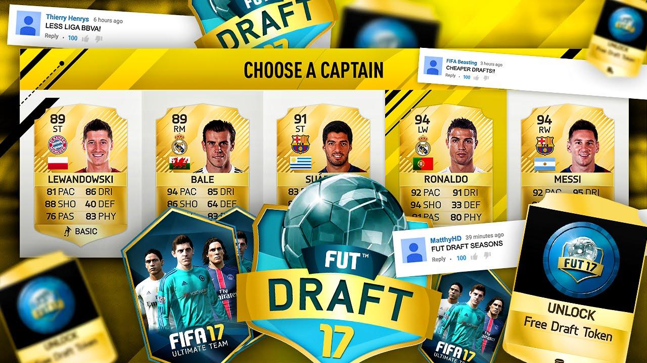 FIFA 17 FUT Draft