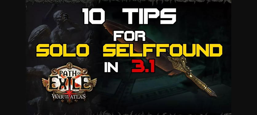 10 Tips for Solo Selffound