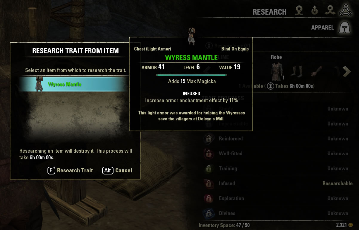 ESO research on traits