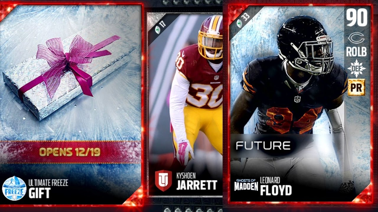 Madden 17 Ultimate Team: Ultimate Freeze Program Released