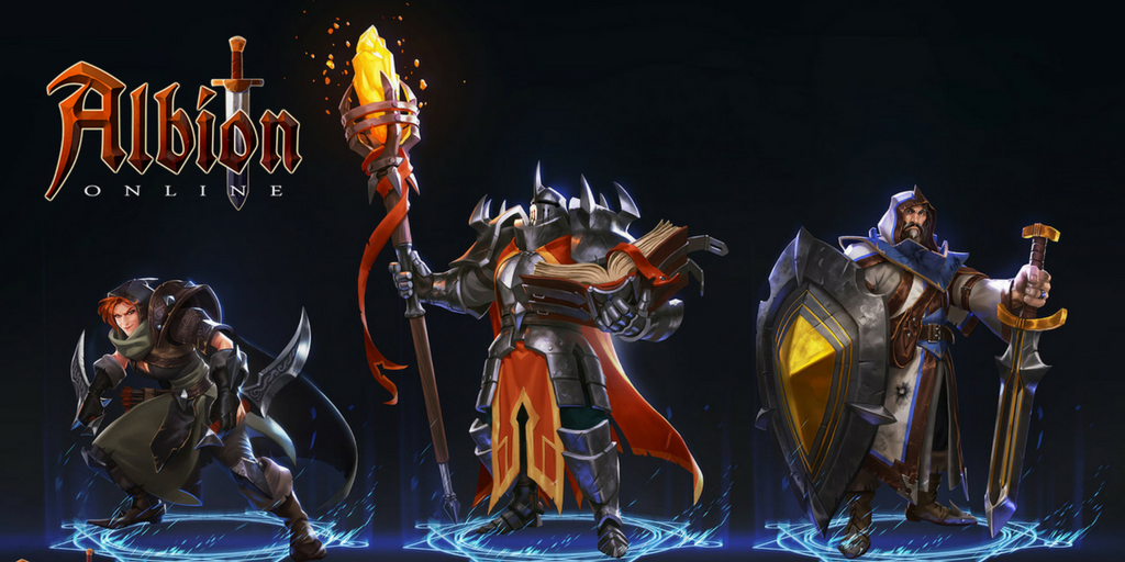 Albion Online: Each Class Is Defined By A Range Of Weapons