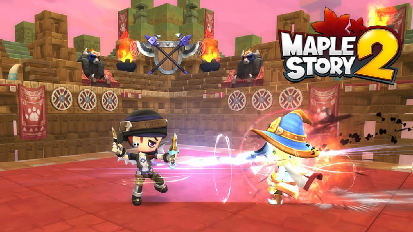 The Chinese Version Of MapleStory 2 Is Easy To Play