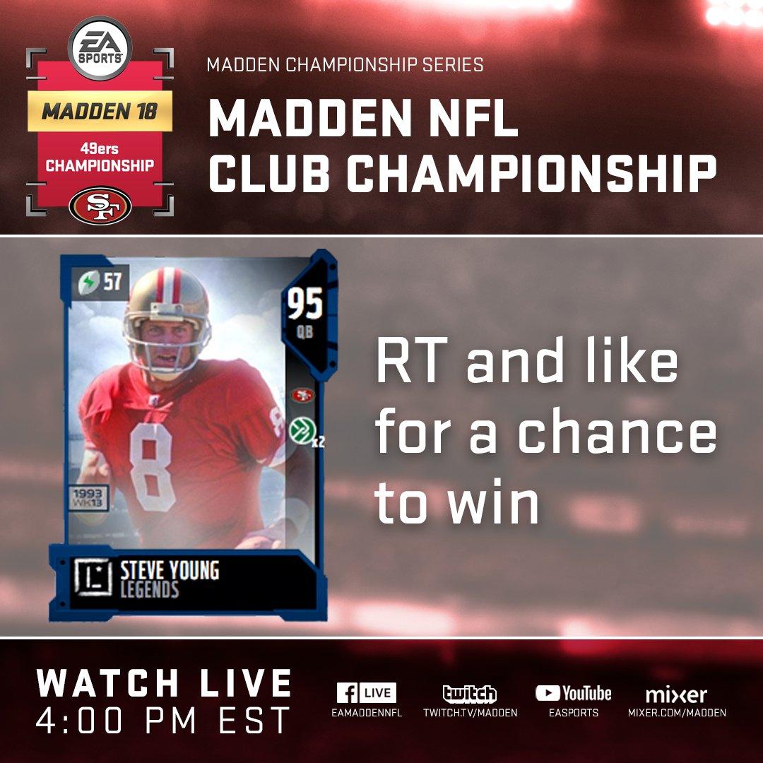 Madden 2018 Club Championship - San Francisco 49ers