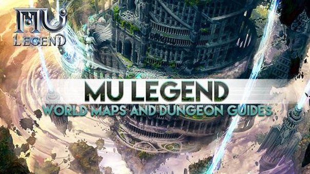 MU Legend Presents The Maps And Dungeon System Of MU Continent