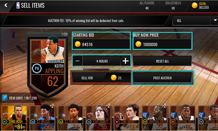 how to get coins nba live mobile