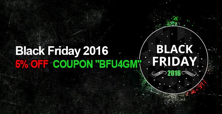 U4GM Black Friday Promotion Details: 5% OFF