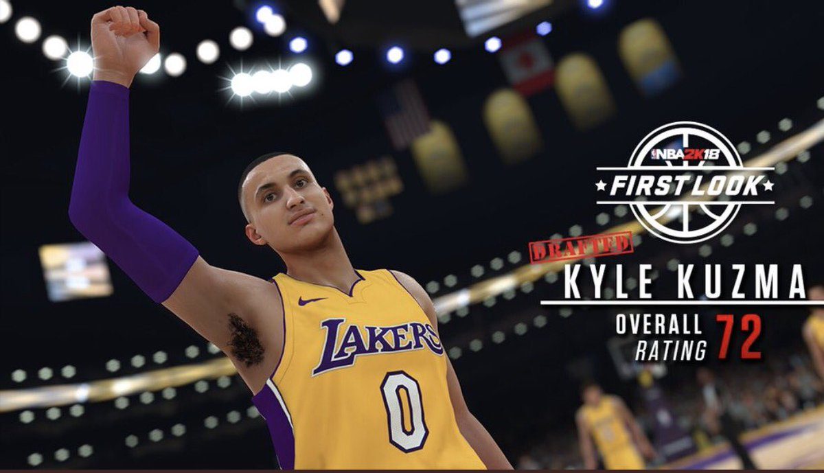 NBA 2K18 First Look And Player Rating - Round 3 - u4nba.com fee80760c