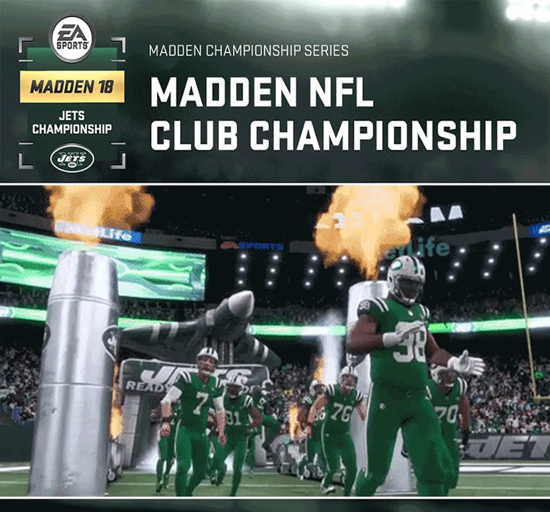 Madden 18 Video Presents Madden 18 Jets Championship