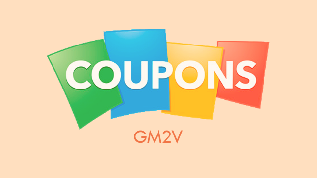 gm2v coupons