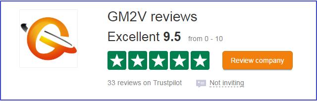 How to Write a Review on Gm2v Trustpilot