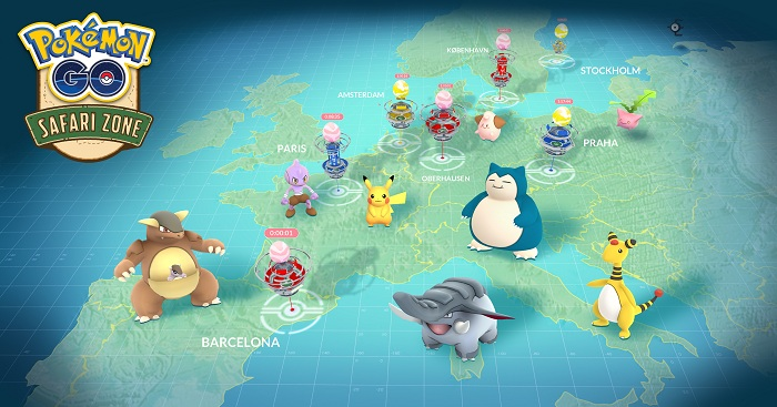 Pokemon GO Will Delay Four Scheduled Safari Zone Events In Europe