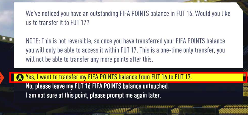 fifa 17 points