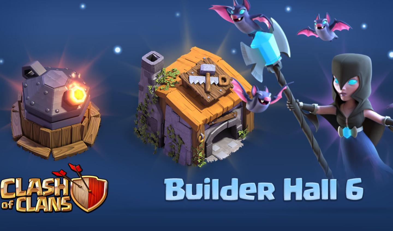 clash of clans деревня строителя 5 уровня #11
