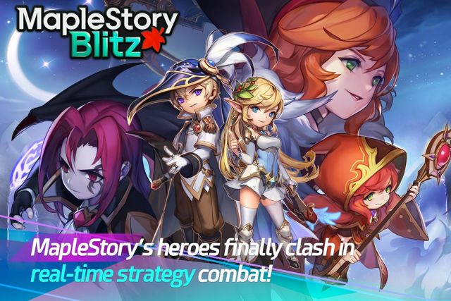 MapleStory Released A New Card Game MapleStory Blitz