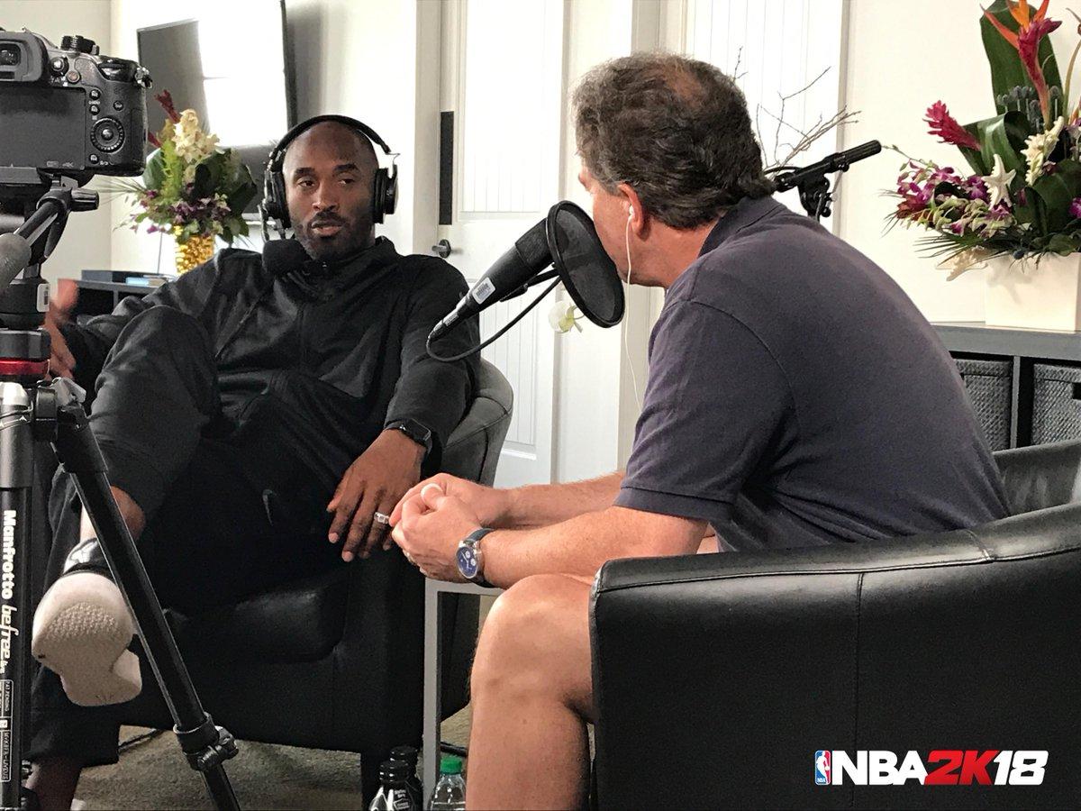 NBA 2K18: Kobe Bryant And Kevin Garnett Will Come As Commentators