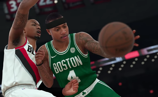 Grab More 2K First Look With Player Ratings In NBA 2K18