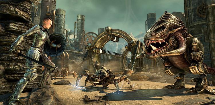 The Elder Scrolls Online: Started DLC Clockwork City And Update 16