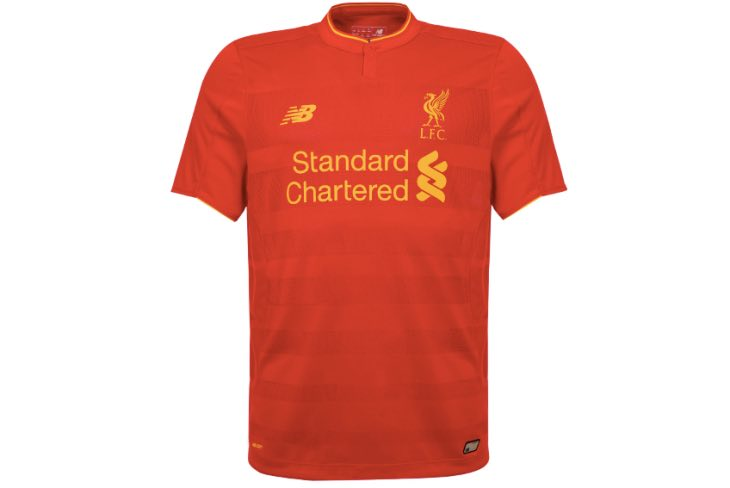 Liverpool Kit in FIFA 17