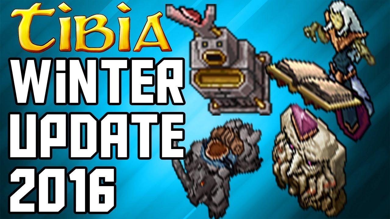 Tibia winter update 2016