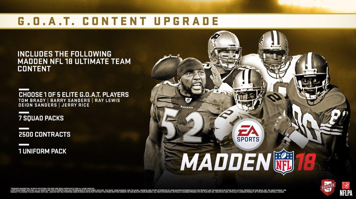 Madden NFL 18 Test: The New NFL Season Is Just Around The Corner