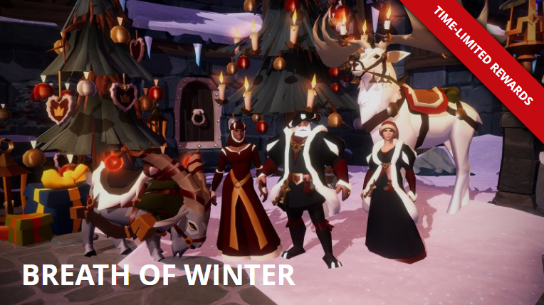 A Winter Wind Blows On Albion Online