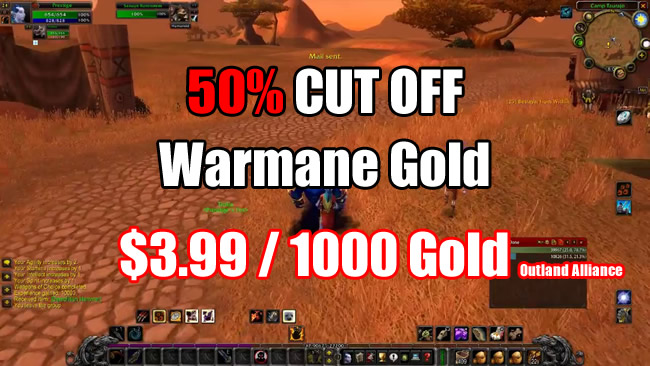 50% Cut OFF - U4GM Become Cheapest Warmane Gold Store Around the World
