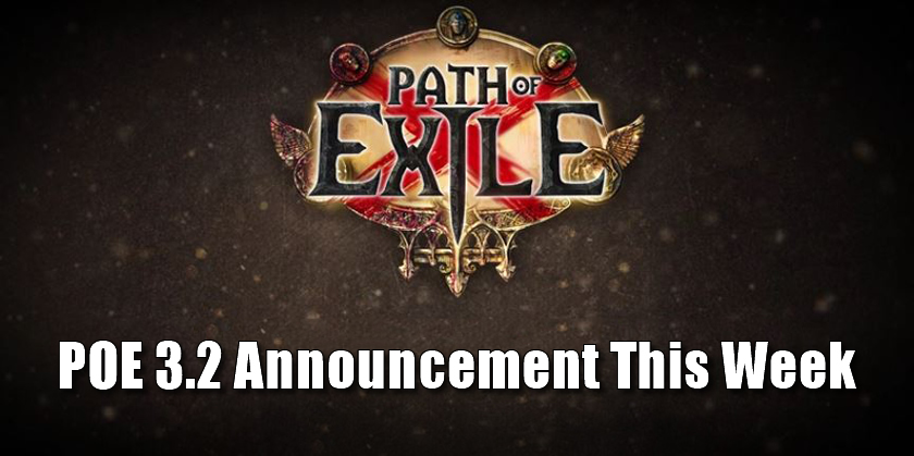 GGG Will Announce Full Paht of Exile 3.2 Details This Thursday
