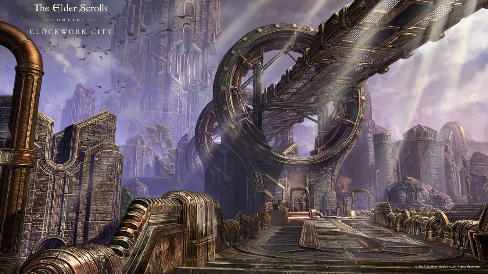 The Elder Scrolls Online Clockwork City Makes Steampunk Fans